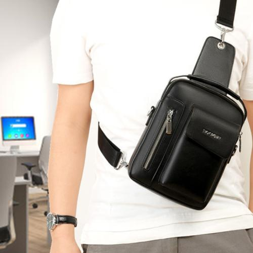 Messenger Leather Briefcase Crossbody Bags Casual Daypack Backpacks