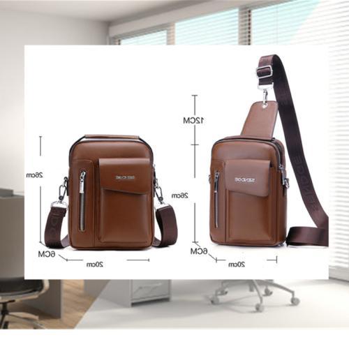 Messenger Bag Leather Briefcase Crossbody Shoulder Bags Daypack Backpacks