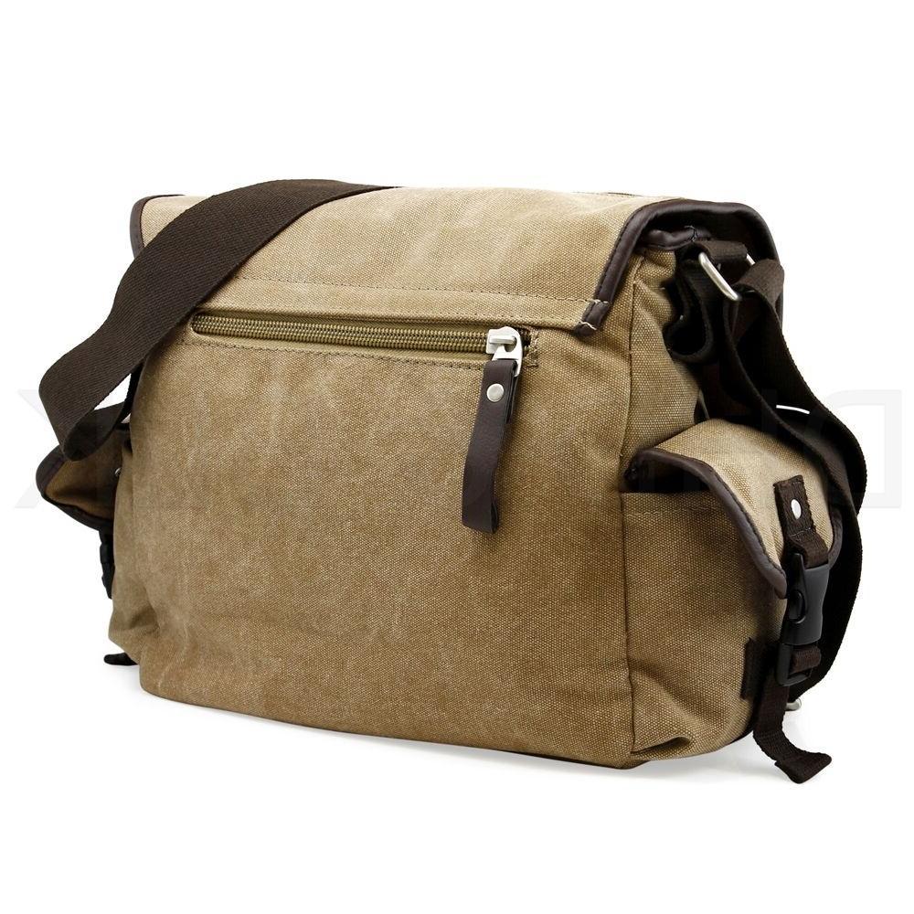 Messenger Bag Bag Men's Satchel Canvas