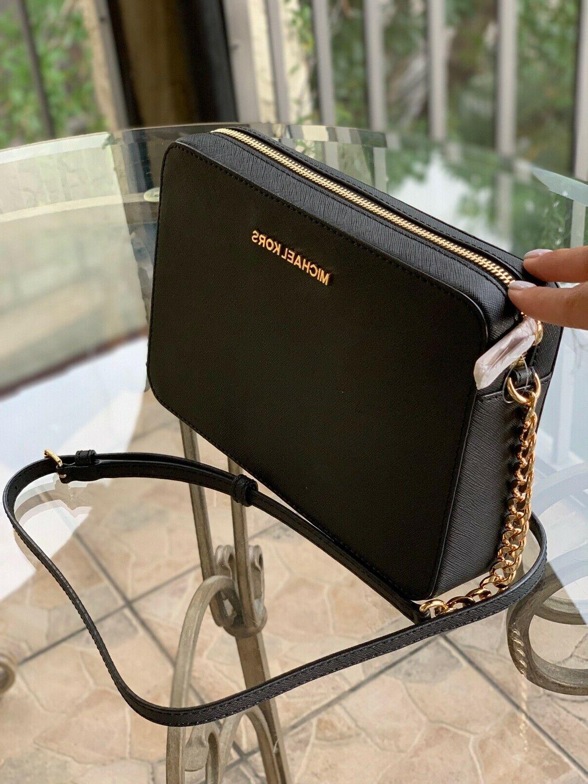 Michael Messenger Chain Shoulder Handbag Purse