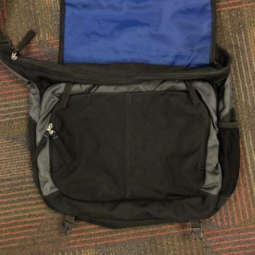 JanSport Network Crossbody Bag Black Laptop