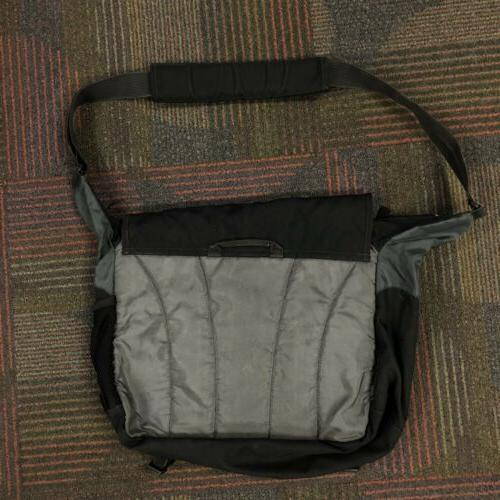JanSport Network Crossbody Bag Black Laptop Compartment