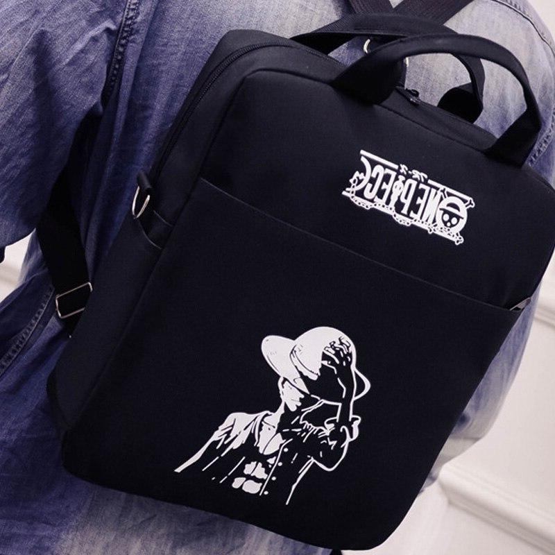 New Japan One Piece Tote <font><b>Bag</b></font> Boys Girls Shoulder <font><b>Messenger</b></font> Laptop Rucksack
