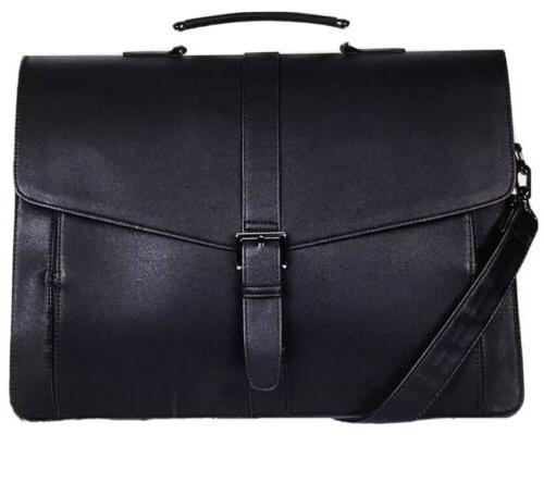 new mens leather messenger bag travel office