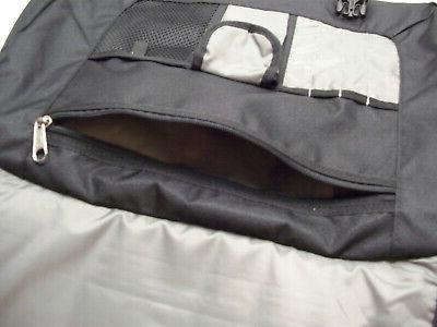 """NEW Messenger Bag, Padded 17"""" Sleeve"""