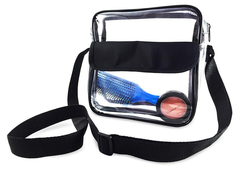 NFL Clear Messenger Bag Security SHIP