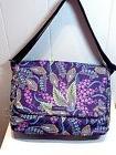 NWT Vera Bradley Lighten Up Essential Messenger Bag in Batik