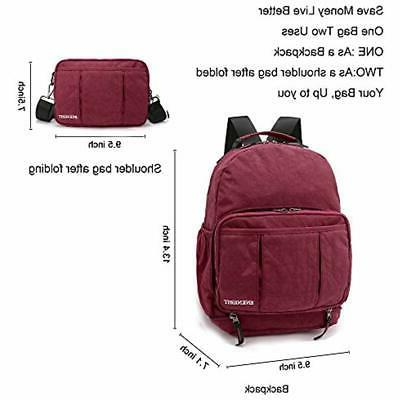 ENKNIGHT Daypack Cross Body Red