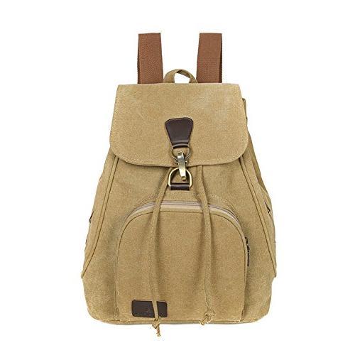 outdoor canvas backpack student shoulder backpack college