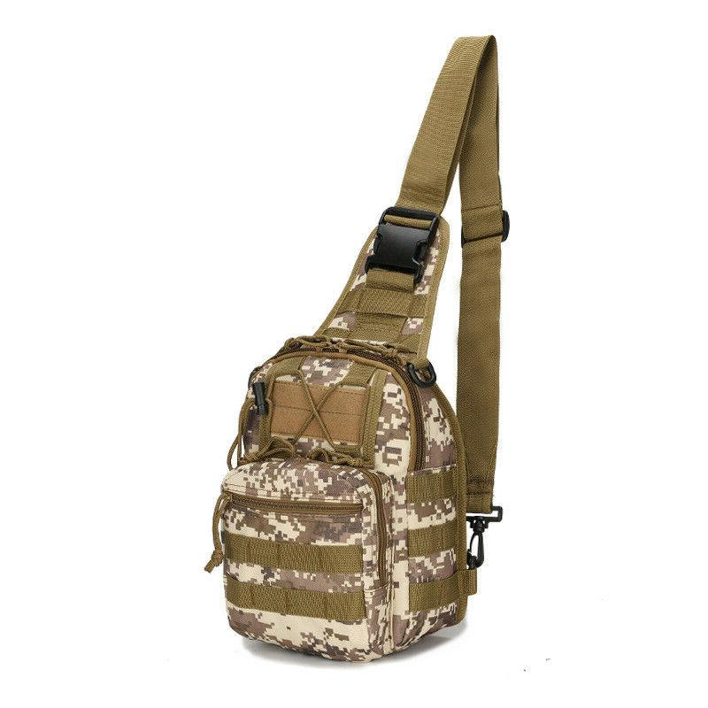 Men Backpack Molle Sling Bag Assault