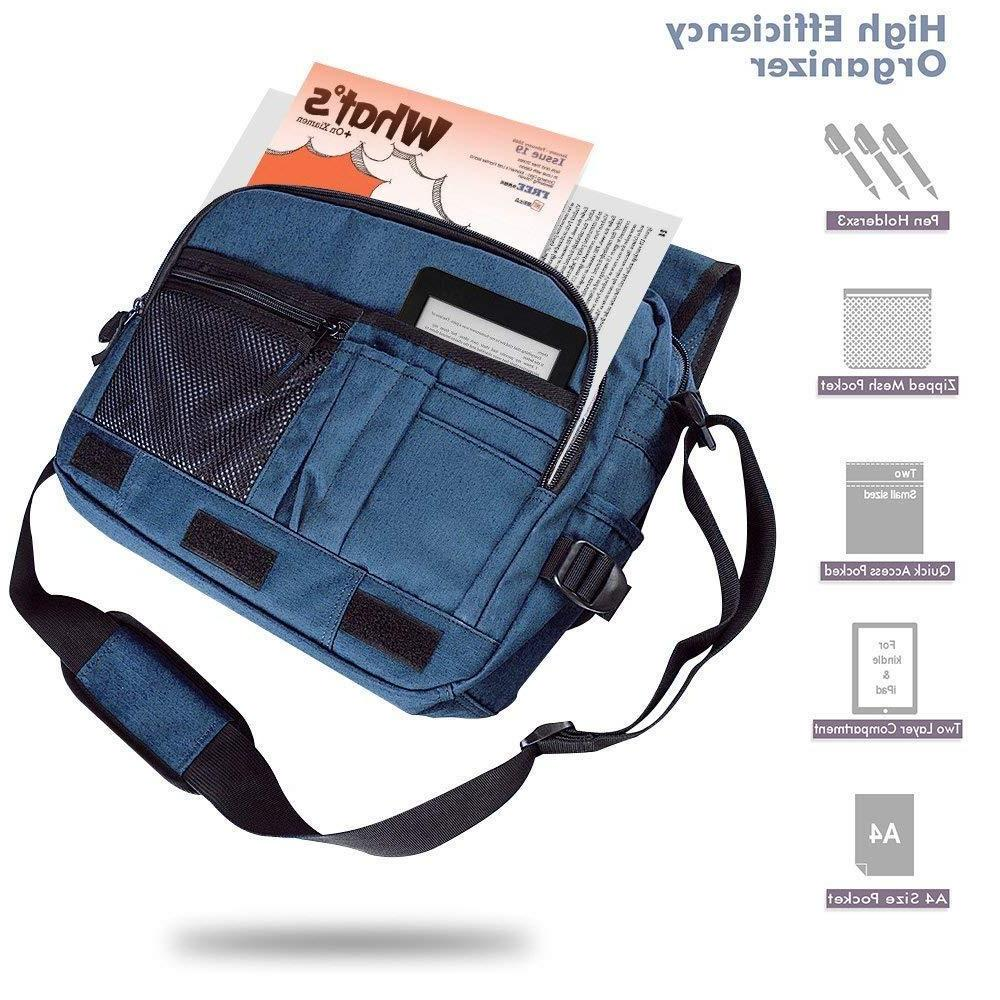 Qipi Messenger Shoulder & Pocket