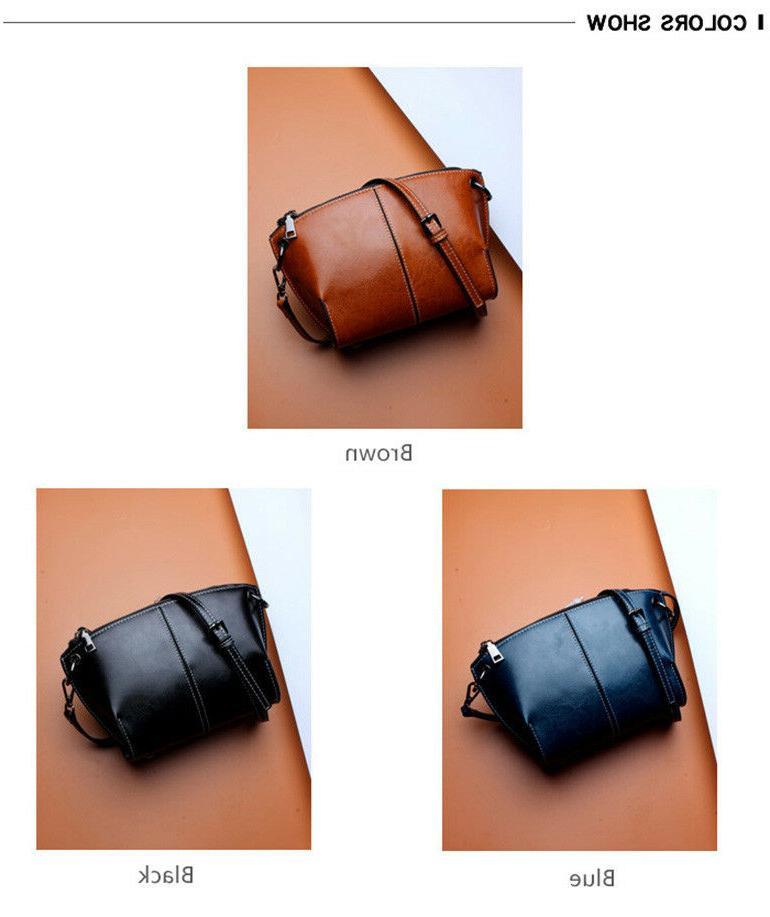 Real Leather Women's Handbag Bag Purse