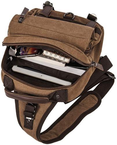 Retro Shoulder One Travel Rucksack