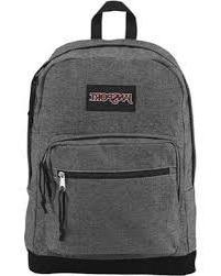 Jansport Right Pack Expressions White/Black Two Tone Twill T