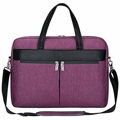 S-ZONE Fashion Women 15.6 inch Laptop Messenger Bag Business