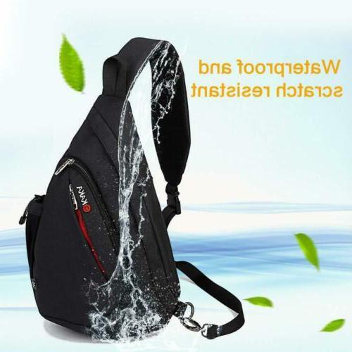 KAKA Backpack Canvas Casual black2