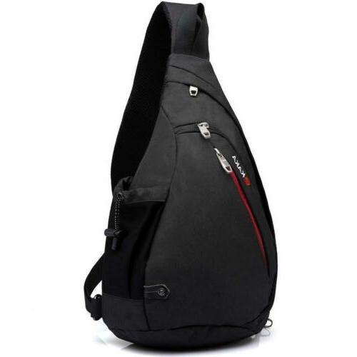 sling bag crossbody backpack canvas waterproof daypack