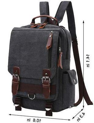 Mygreen Cross Body Laptop Bag Backpack