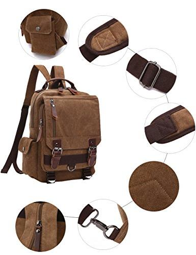 "Mygreen Sling Canvas Body 13"" Bag Backpack"