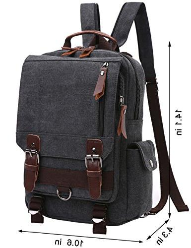 "Mygreen Sling Body 13"" Laptop Messenger Bag Backpack"