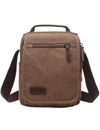 Mygreen Small Canvas Crossbody Shoulder Bag Messenger Work