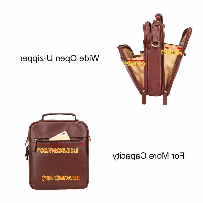 Banuce Small Messenger for Vintage Full Grain Shou