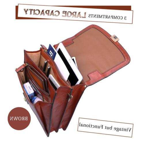 Banuce Small Vintage Grain Italian Bag for