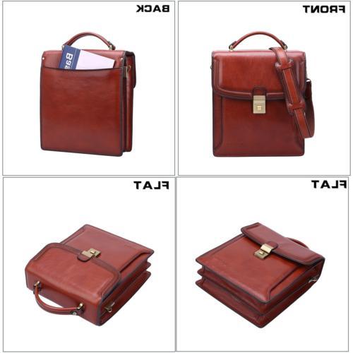 Banuce Small Grain Italian Leather Bag for