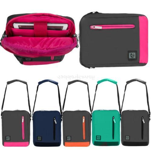 """Tablet Messenger Shoulder Bag Pouch Case For 7.9""""-9.7""""iPad/8"""