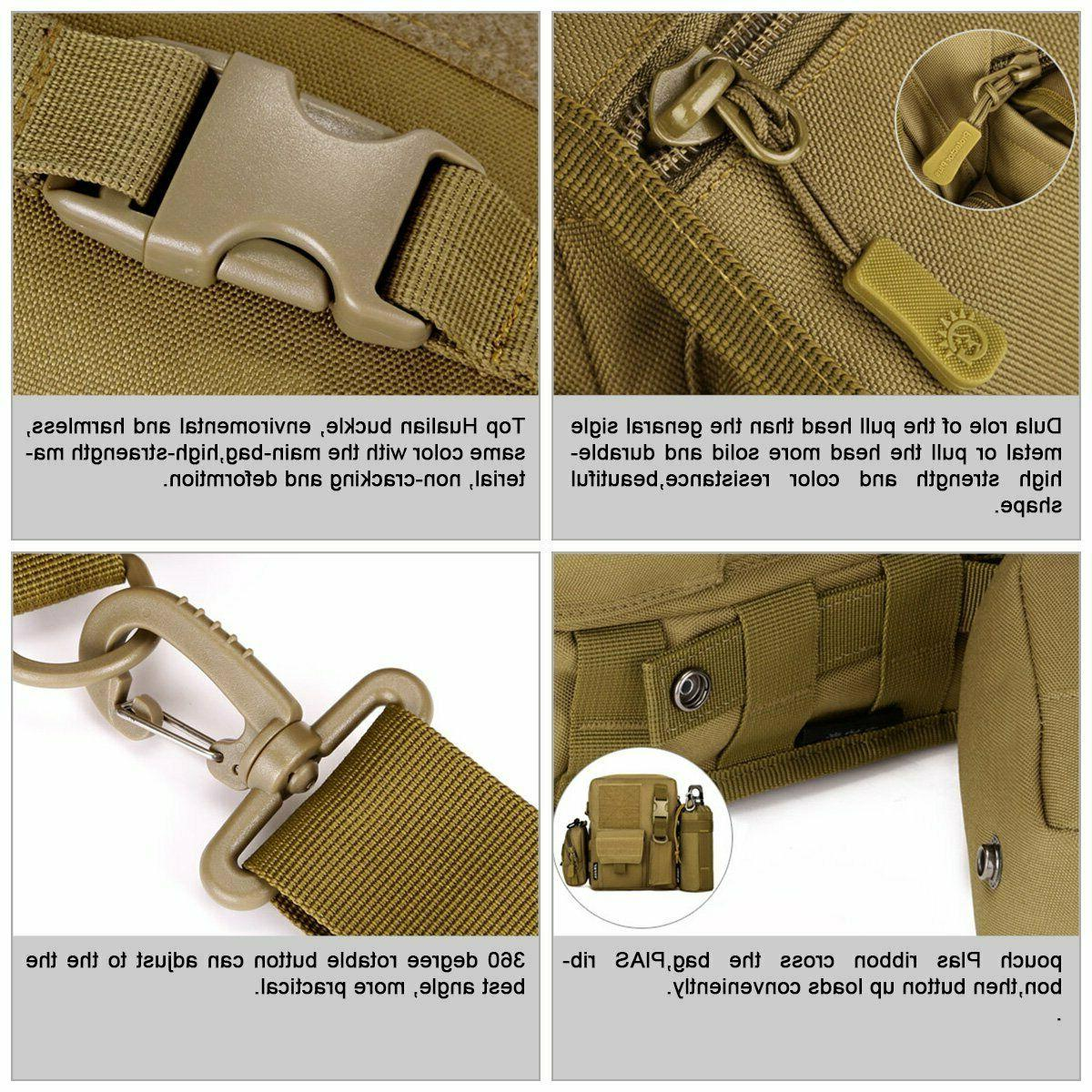 Waterproof Casual Pack Small Canvas with Shoulder