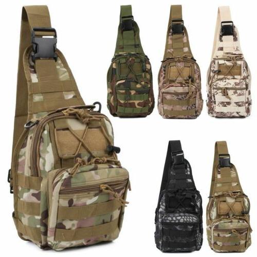 Tactical Bag Men's Crossbody Sling Messenger Shoulder Pack