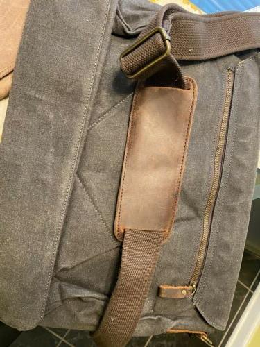 TOCODE Vintage Messenger Bag Laptop