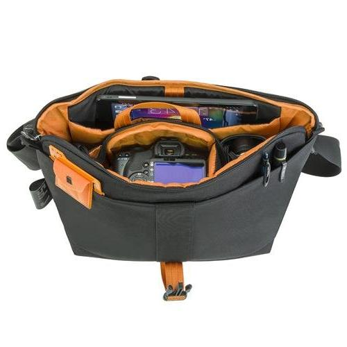 24/7 Camera Bag Adjustable/Removable Strap Built-In Weather Cover