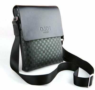 Travel Crossbody Leather Messenger Bag