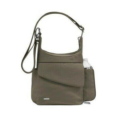 unisex anti theft classic messenger bag nutmeg