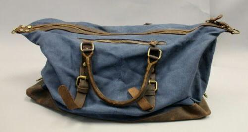 Berchirly Unisex Distressed Canvas HD3 Navy NWT