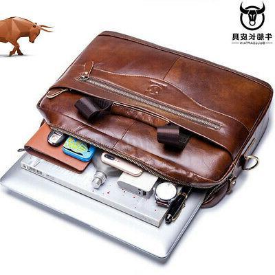 US Men Genuine Briefcase