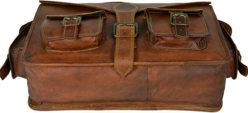 US Brown Leather Handbag