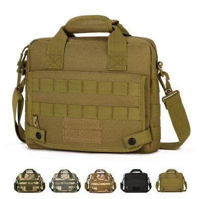 US Tactical Nylon Pack Bag Camping Briefcase Messenger Shoul