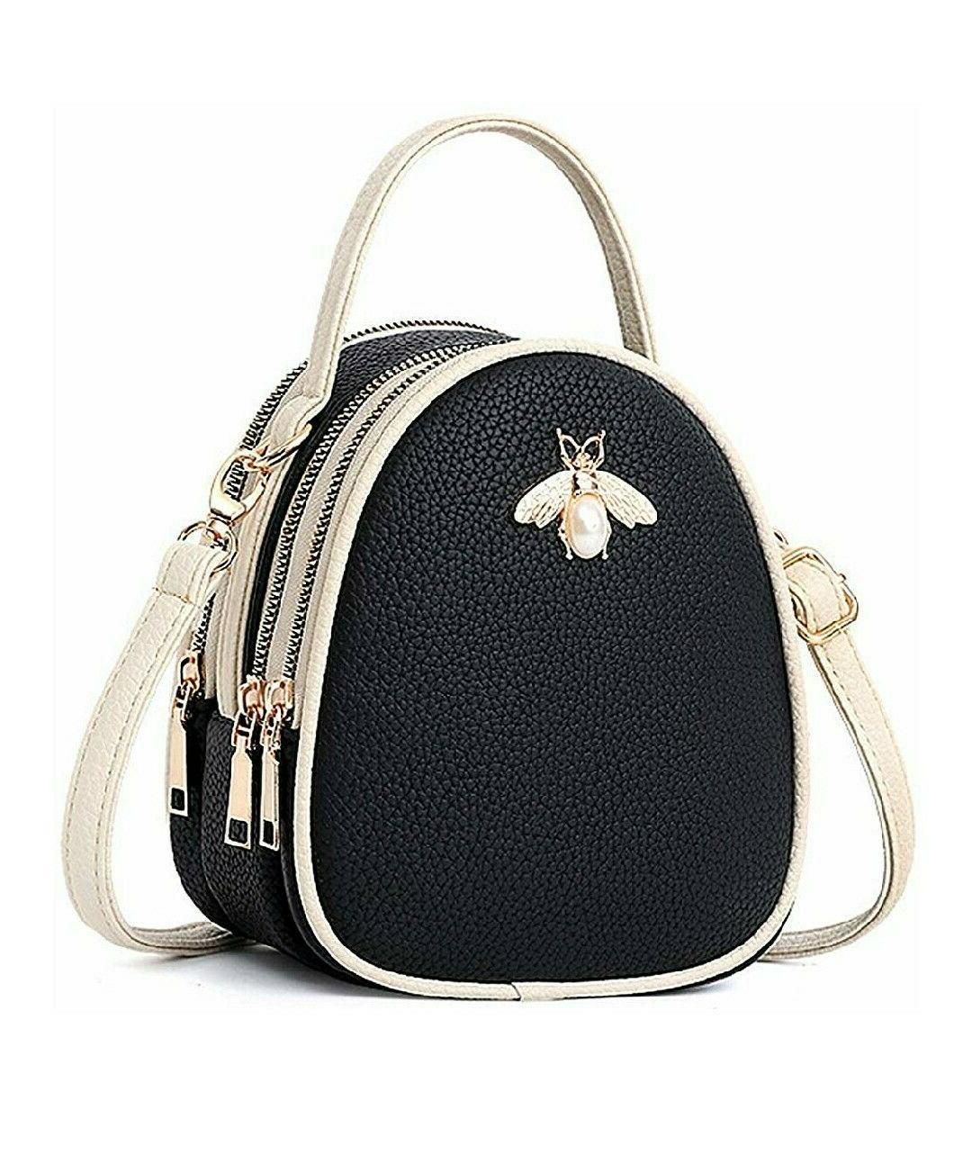 us women tote messenger cross body handbag