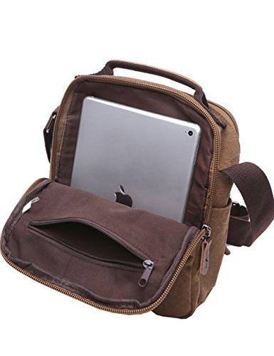 Vertical Mygreen Shoulder Satchel Bag for Travel and