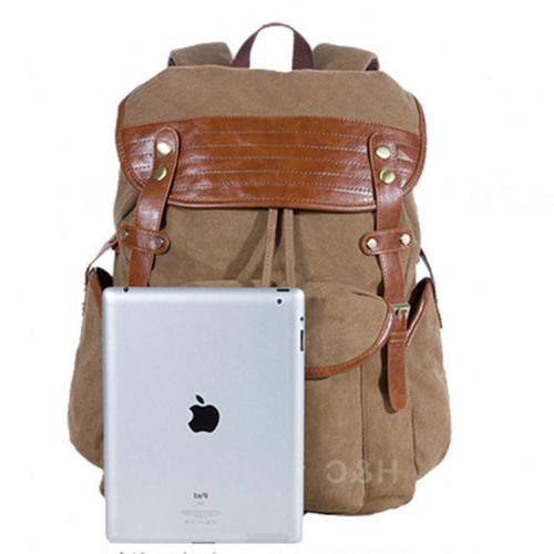 Vintage Canvas Men's Outdoor Travel Casual Laptop Shoulder Bag