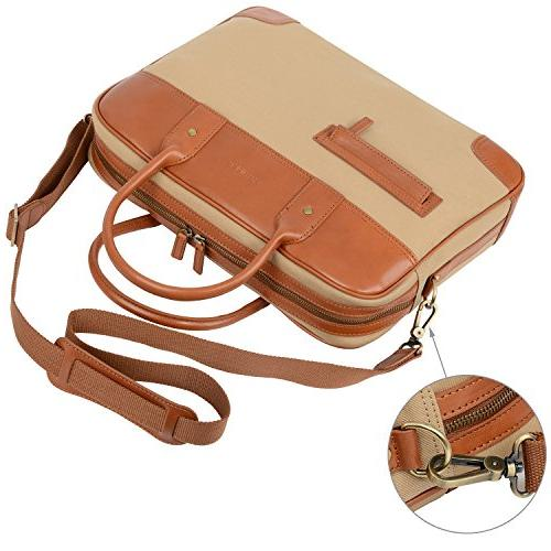 Banuce Bag Leather Business Tablet Shoulder