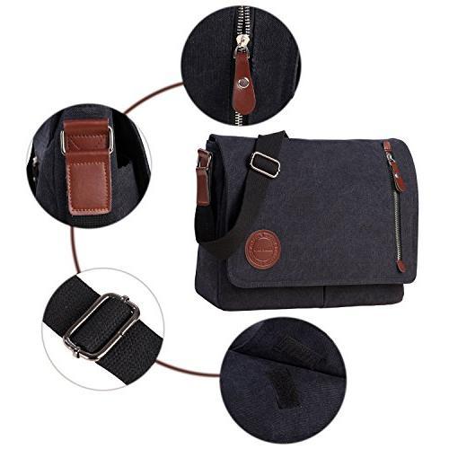 Vintage Satchel Messenger Shoulder Bag Laptop Bags