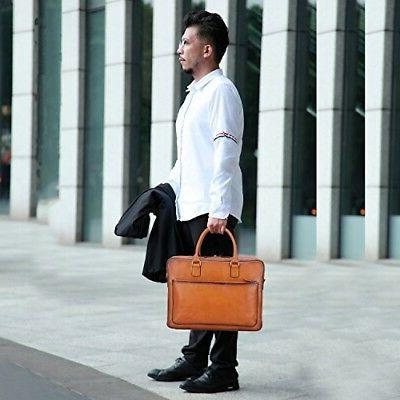 Banuce Leather Tote Messenger Bag