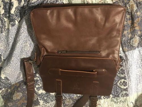 Vintage Leather Berchirly PU Leather Shoulder Bag