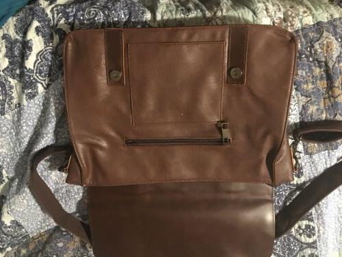 Vintage Briefcase, PU Bag Laptop