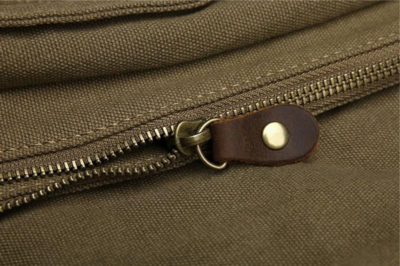 Sechunk Vintage Laptop Bag Messenger Medium