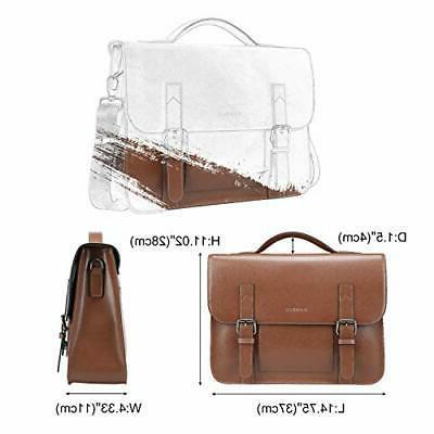 Banuce Vintage Messenger Bag Bags Laptop