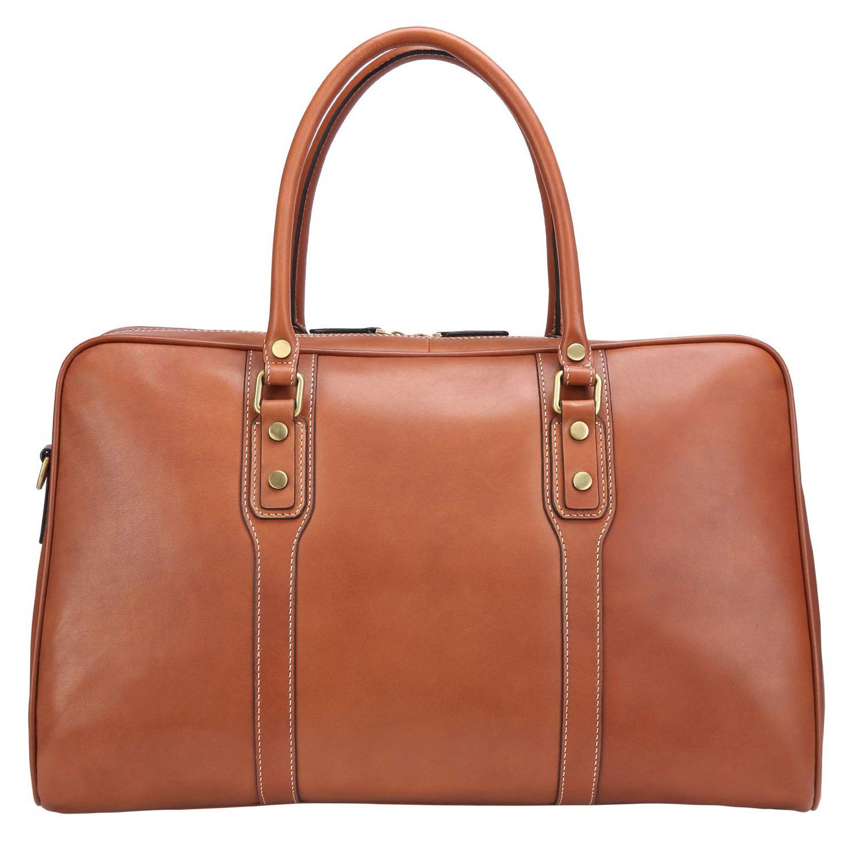 Banuce Vintage Full Grain Leather Men Business